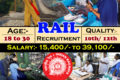 Central Railway Jobs – 2562Apprentice Posts: