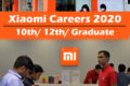 xiaomi careers for freshers – apply Online for xiaomi jobs 2020